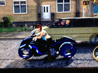 X-2 Phantom - left in Saints Row The Third