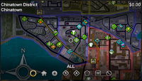Chinatown map in Saints Row