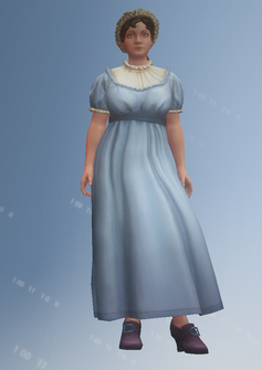 Jane Austen - character model in Saints Row IV