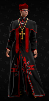 SRTT Outfit - The cardinal (female)