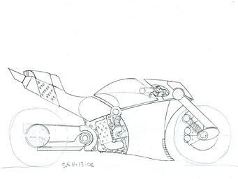 Shogo Akuji's Kaneda 3rd sketch