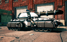 Dildozer - front right in Saints Row IV