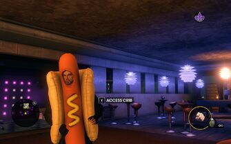 Hot Dog suit in Saints Row The Third
