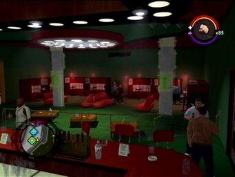 Crash Landing - interior from bar