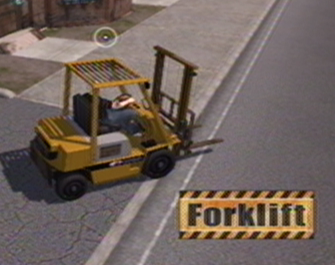 Forklift in Saints Row