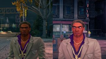 Graphics Comparision of Pierce between Saints Row The Third and in Saints Row IV