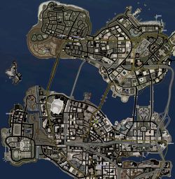 Hoing locations map in Saints Row 2