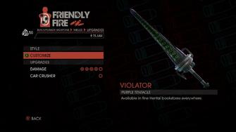 Weapon - Melee - Tentacle Bat - Upgrades