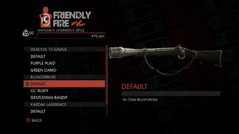 Weapon - Shotguns - Pump-Action Shotgun - Blunderbuss - Default