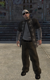 Columbians-01 - WhiteRedShirt - character model in Saints Row