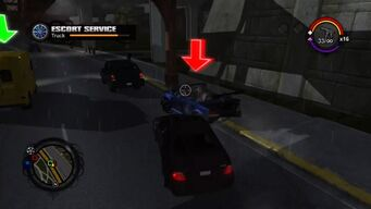 Escort Service - taking out marked Westside Rollerz attackers