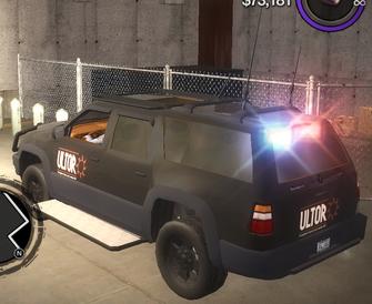 FBI - Ultor CS - rear left in Saints Row 2