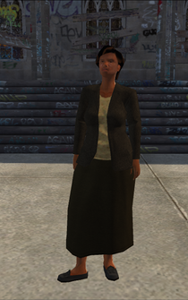 MiddleAge female 01 - black - character model in Saints Row
