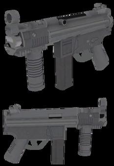 SKR-9 Threat - Saints Row 2 model
