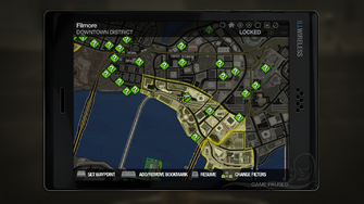 Secret Area - Downtown highway ball courts on map