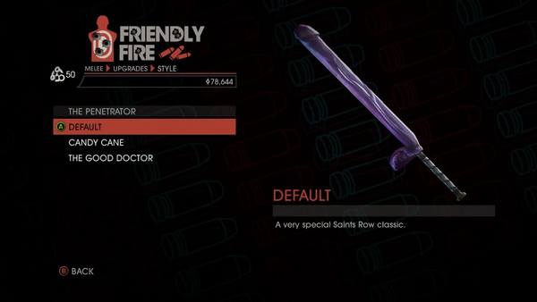 Weapon - Melee - Dildo Bat - The Penetrator - Default