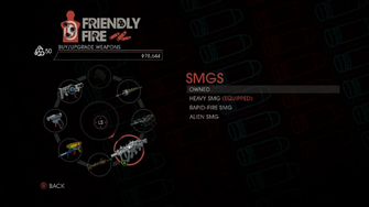 Weapon - SMGs - Menu