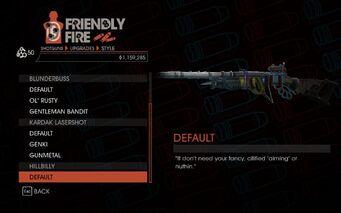Weapon - Shotguns - Pump-Action Shotgun - Hillbilly - Default