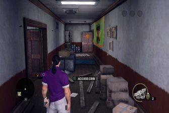 Angel's Gym - rear hallway