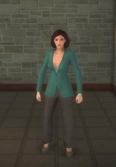 Jane Valderamma - character model in Saints Row 2