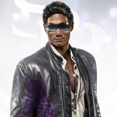 Johnny Gat in Saints Row The Third