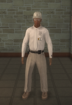 Nuclear - black - character model in Saints Row 2