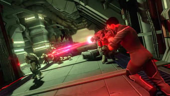 Saints Row IV Announce Teaser - unknown laser rifle