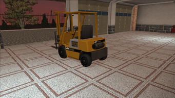 Saints Row variants - Forklift - standard - rear left