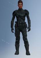 Shaundi - Saints team 6 - character model in Saints Row IV