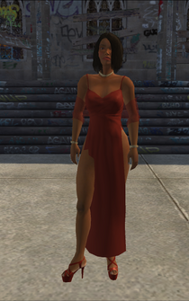 Snatch - Madame Vikki - alternate with different hair - character model in Saints Row
