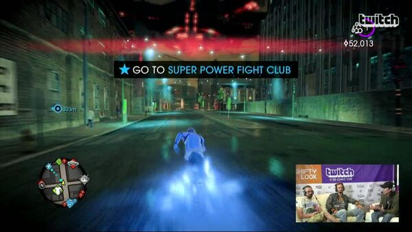 Super Power Fight Club named in objective in Saints Row IV livestream