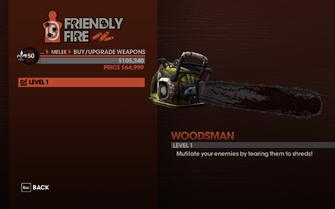 Woodsman - Level 1 description
