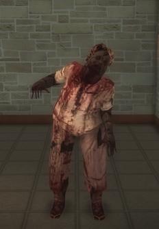 Zombie - female b - character model in Saints Row 2