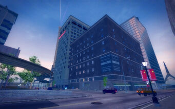 Adept Way in Saints Row 2 - Bainbridge Tower