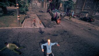 Combat - Super front running attack in Saints Row IV - start