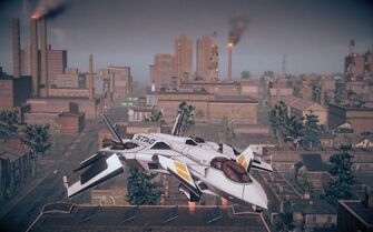 F-69 VTOL - front right in Saints Row IV