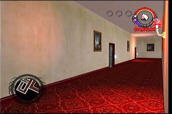 Raykins Hotel - upstairs hallway