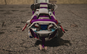 Saints Row IV variants - Xor Saints - rear