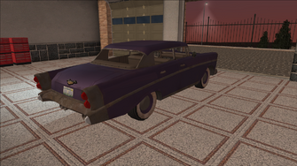 Saints Row variants - Hollywood - HooptiePurple2 - rear right
