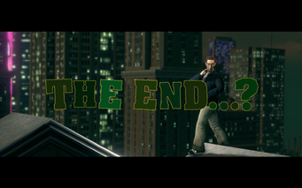 Send in the Clones - The End title card