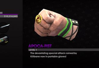 Apoca-Fist in Weapon Cache
