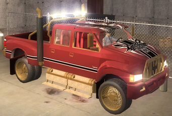 Compensator - Brotherhood variant - front right in Saints Row 2