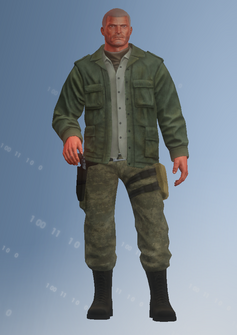 Cyrus Temple - alqaeda - character model in Saints Row IV