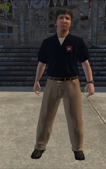 Loan Shark - Mike - character model in Saints Row
