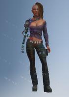 Shaundi - future - character model in Saints Row IV