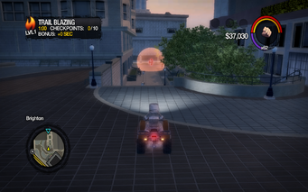 Trail Blazing start in Saints Row 2