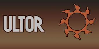 Ultor name and logo