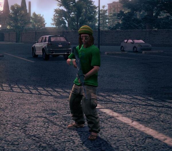 Veteran Child as a homie in Saints Row IV