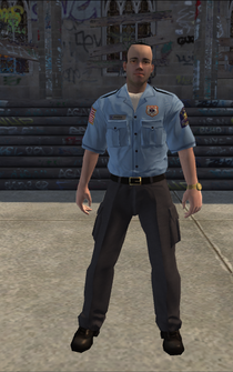 EMT male - White - character model in Saints Row