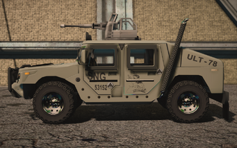 Saints Row IV variants - Bulldog turret Military - left